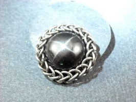 wrapped black star diopside by Setarian