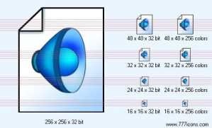 Sound file Icon by TheTech9