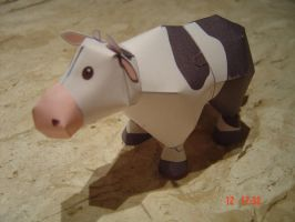 Harvest Moon Cow Papercraft by Vargaskyld