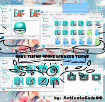 Miku Theme para Iconpackager by ActivateCode00