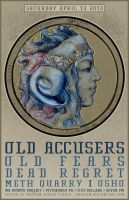 OLD ACCUSERS POSTER by BURZUM