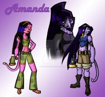First time I drew Amanda... by JennissyCooper