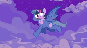 Fly in the sky with you by Lion-Grey