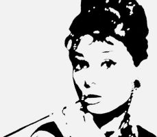 Audrey- Breakfast at Tiffanys by GlassWorks
