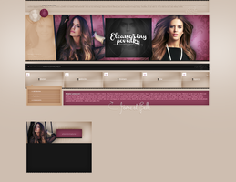 Layout ft. Clara Alonso by PixxLussy