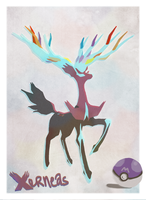 Possible Shiny Xerneas by ArtDesChoix07