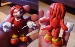Knuckles Figurine by Jelle-C