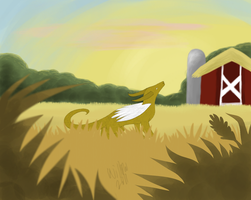 Farming Dreams -SPEEDPAINT- by Wivoatt