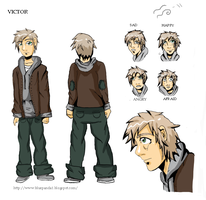 Victor in color by blueDREAM-SH