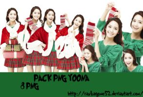 [24122013] PACK PNG YOONA MERRY X-MAS by rankagome52