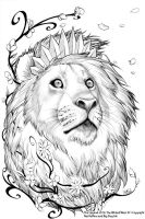 Oz 11 Cowardly Lion by ToolKitten