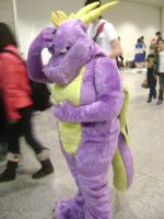 Spyro the dragon cosplay by angelic-cat15