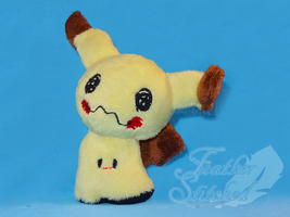 Mimikyu Plush (link to shiny in the description) by FeatherStitched