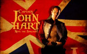 Captain John Hart Wallpaper by Adder24