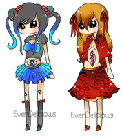 Adoptables  Fp,  Part D  Everdelicious Collab. by All-G