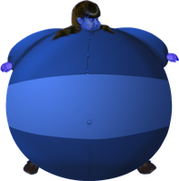 Another Realism Blueberry pic of Kristina by JuacoProductionsArts