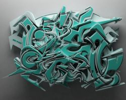 3D GRAFFITILIFESTYLES by anhpham88