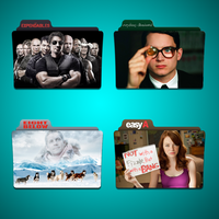 E movies Folder Icon Pack by Kliesen