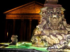Rome Fountain by JustinAnfuso