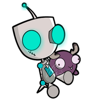 GIR and Minimoose by vivianit11