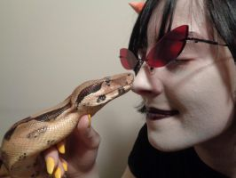 Legless Dragon Nose Boops! by AmericanBlackSerpent