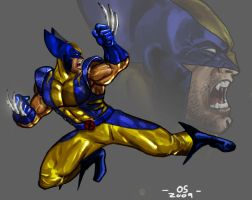 Wolverine Blue by osx-mkx