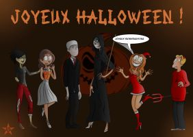 Les Nombrils Halloween 2014 by Nikkifictivcorp