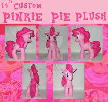 Custom Pinkie Plush Collage by stich-by-stich