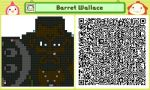Barret Wallace Pushmo by Ability-King-KK