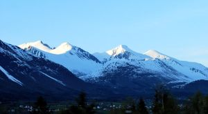 Mountains in Norway by IP-Photography