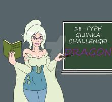 18-Type Gijinka Challenge: Dragon by Zeronos12