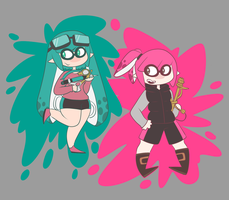 freshest squids ready 2 ink by julessmeels