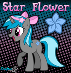 Star Flower - Everfree Network OC Pony by KibbieTheGreat
