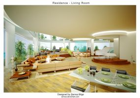 R2-Living Room 1 by Semsa
