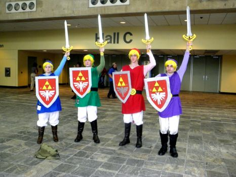 Otakon 2011 - Four More Swords by mugiwaraJM