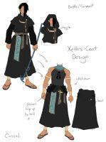 Xeth's Coat Design by hyperionwitch
