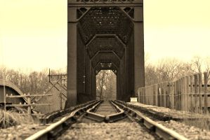 Railroad Bridge by sweetz76