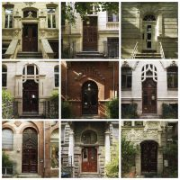 DOORS OF WIESBADEN by rawimage