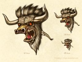 Tauren Icon by fengsj