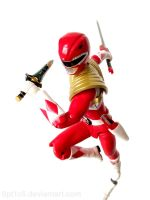 Armored Red Ranger 3 by 0PT1C5