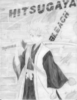 Hitsugaya grafitti by Bleach-Lovers