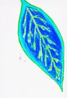 Water Leaf Full Colour by Alphonse97