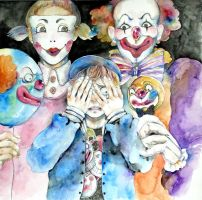 Coulrophobia by juyari