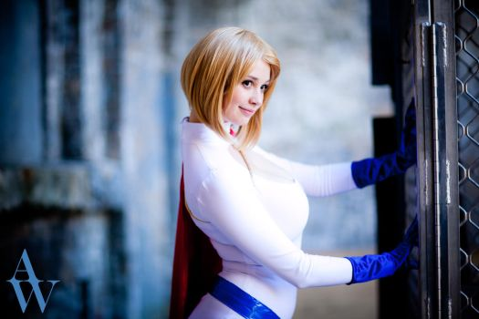 Power Girl by Ardella by AndyWana