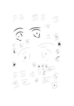 Body Parts (Eyes) 1 - Concept Art by TheKatanaPhilosopher