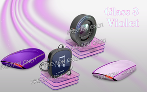 DTU Glass3 Violet by Fiazi