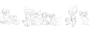 some team sketches by blinding-eclips