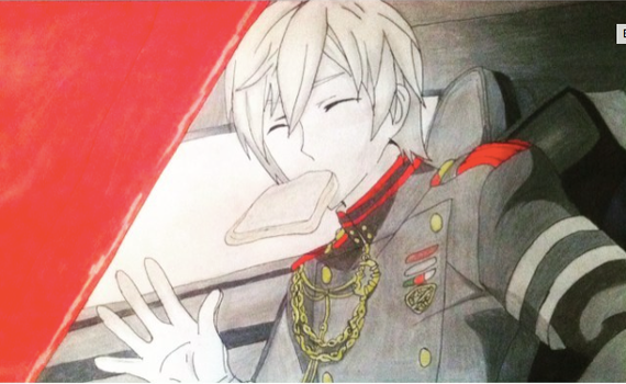 Shinya Hiragi Done by rin-rose-art