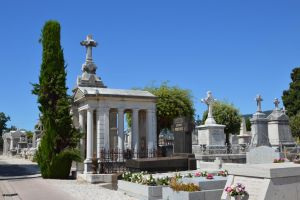Cemetery in Provence 2 by A1Z2E3R