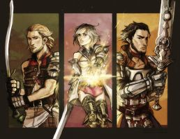 FFXII Dream Team by Maliris-San